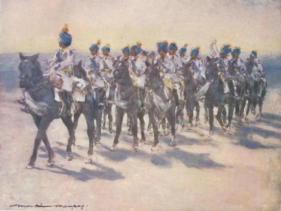 'The Imperial Cadet Corps at the Durbar', 1903-Mortimer L Menpes-Giclee Print