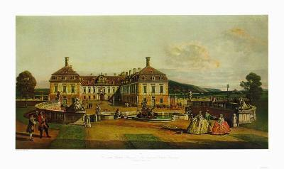 The Imperial Chalet Schlosshof in Marchfeld-Bernardo Bellotto-Collectable Print