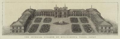 The Imperial College of Engineering, Tokio, Japan--Giclee Print