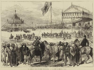 The Imperial Durbar at Delhi, Proclamation of the Queen as Empress of India--Giclee Print