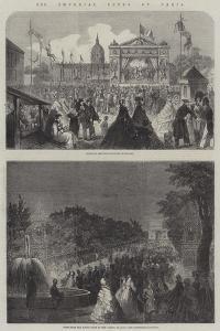 The Imperial Fetes at Paris