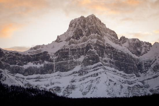The Imposing North Face of Howse Peak in the Waputik Range of the Canadian Rocky Mountains-Cory Richards-Photographic Print