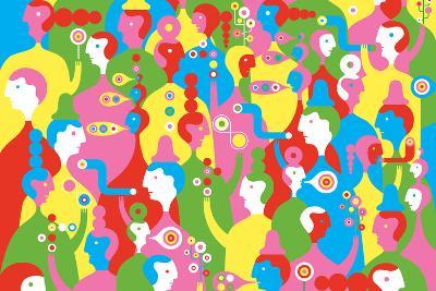 The In Crowd-Melinda Beck-Art Print