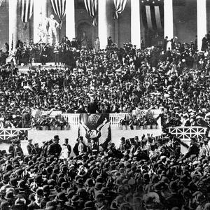 The Inauguration of President Theodore Roosevelt, 1905.