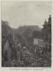 The Inauguration of the Motor-Car, Entering Reigate