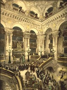 The Inauguration of the Opera. the Opera House, Paris, France, C.1890-C.1900