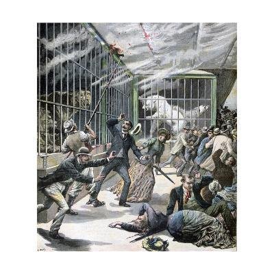 The Incident at the Menagerie, Montceau-Les-Mines, France, 1891-Henri Meyer-Giclee Print