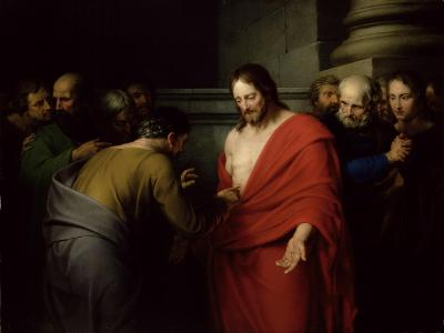 The Incredulity of St. Thomas-Benjamin West-Giclee Print