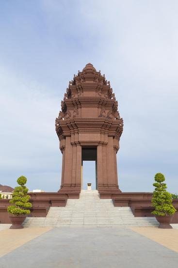 The Independence Monument in Phnom Penh, Cambodia--Giclee Print