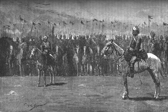 'The Indian Contingent - The Thirteenth Bengal Lancers', c1882-Unknown-Giclee Print