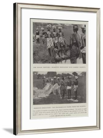 The Indian Drought--Framed Giclee Print