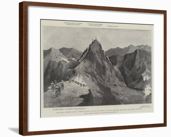 The Indian Frontier Rising-Charles Auguste Loye-Framed Giclee Print