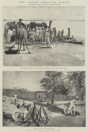 The Indian Frontier Rising-Henry Charles Seppings Wright-Giclee Print