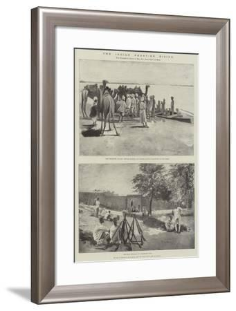 The Indian Frontier Rising-Henry Charles Seppings Wright-Framed Giclee Print