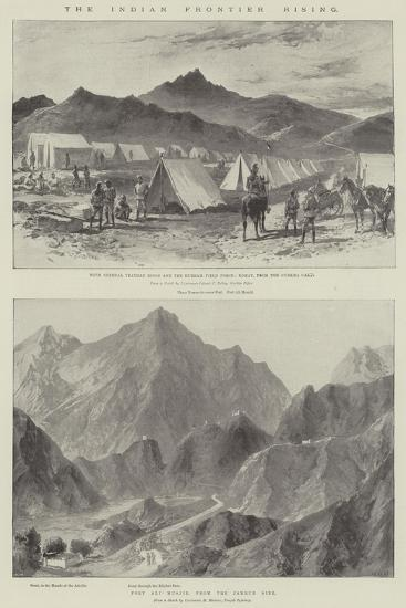 The Indian Frontier Rising-William Heysham Overend-Giclee Print