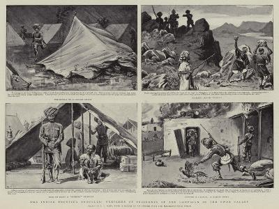 The Indian Frontier Troubles, Sketches of Incidents of the Campaign in the Swat Valley-S^t^ Dadd-Giclee Print