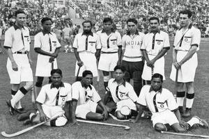 The Indian Hockey Team, Gold Medal Winners, Berlin Olympics, 1936