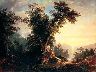 The Indian's Vespers-Asher Brown Durand-Giclee Print