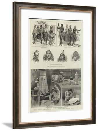 The Indian Section of the Colonial and Indian Exhibition--Framed Giclee Print