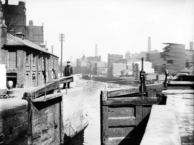 The Industrial Landscape on the Regent's Canal, London, C1905--Photographic Print