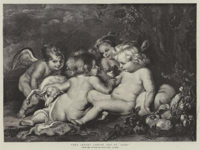The Infant Christ and St John-Peter Paul Rubens-Giclee Print