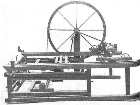 'The Ingenious Spinning Jenny Invented by James Hargreaves', c1925-Unknown-Photographic Print