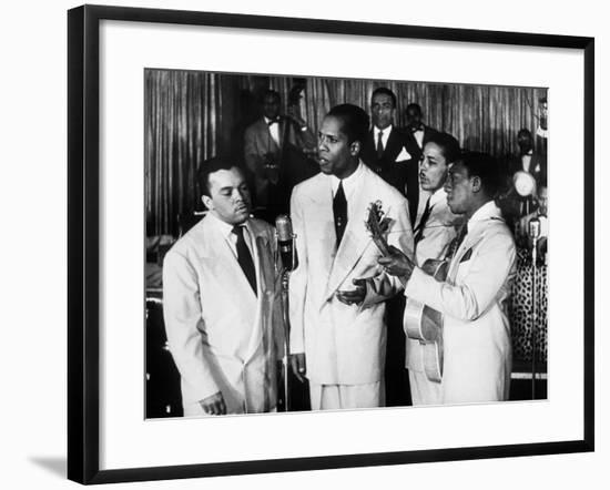 The Ink Spots, c1945--Framed Giclee Print