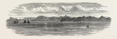 The Inland Sea of Japan: the Bingo Nada, with Yosima Island and Villages. 1868--Giclee Print