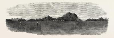The Inland Sea of Japan: View in the Harima Nada. 1868--Giclee Print