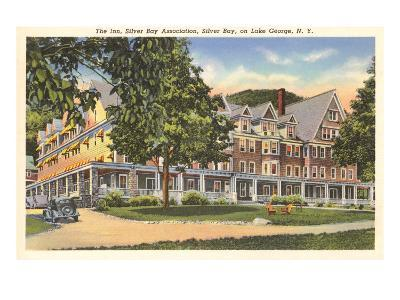 The Inn at Silver Bay, Lake George, New York--Art Print