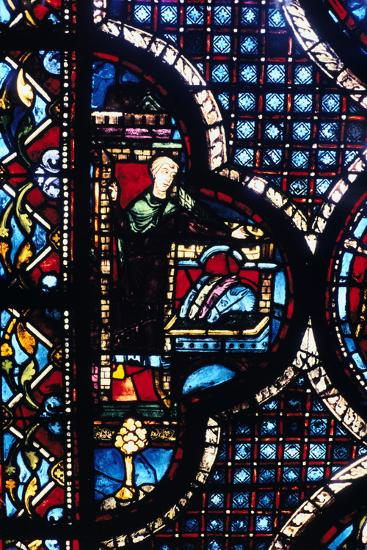 The Inn, Stained Glass, Chartres Cathedral, France, 1205-1215--Photographic Print