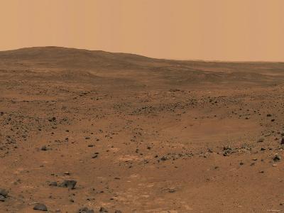 The Inner Basin of Mars-Stocktrek Images-Photographic Print