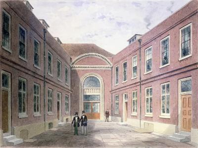The Inner Court of Girdlers Hall Basinghall Street, 1853-Thomas Hosmer Shepherd-Giclee Print
