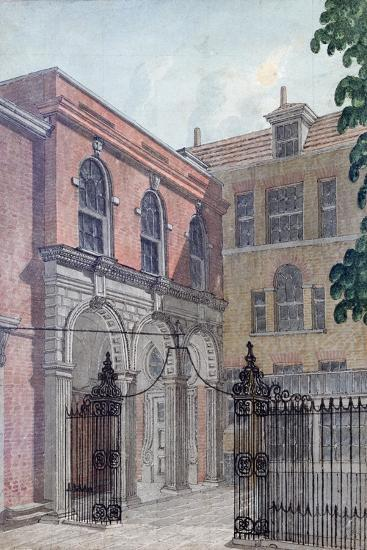 The Inner Court to Old Salters' Hall, 1750-Wilson-Giclee Print