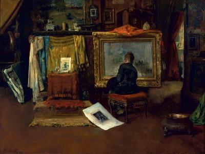 The Inner Studio, Tenth Street, 1882-William Merritt Chase-Giclee Print