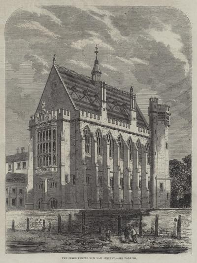 The Inner Temple New Law Library--Giclee Print