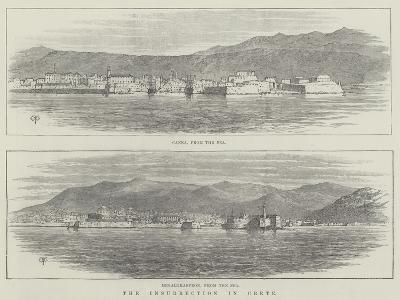 The Insurrection in Crete-Thomas Harrington Wilson-Giclee Print