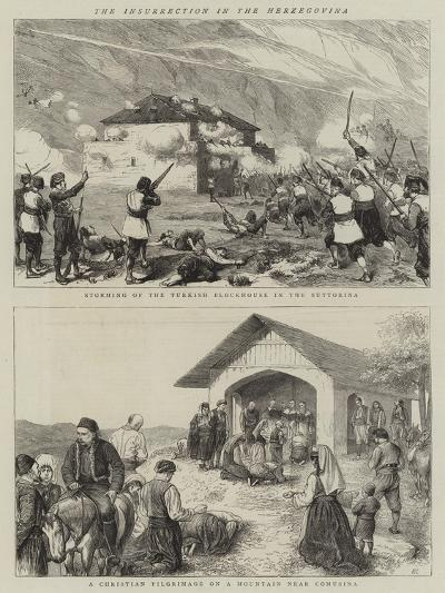 The Insurrection in Herzegovina-William Ralston-Giclee Print
