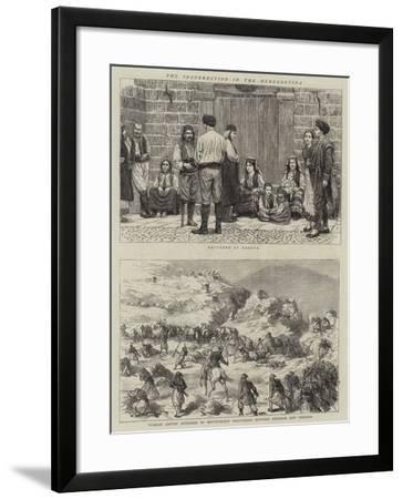 The Insurrection in Herzegovina--Framed Giclee Print