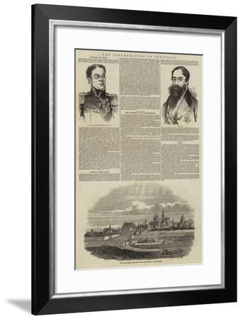 The Insurrection in Portugal--Framed Giclee Print