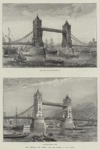 The Intended New Bridge over the Thames at the Tower