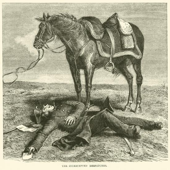 The Intercepted Despatches, January 1871--Giclee Print