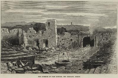 The Interior of Fort Mortier, Neu Breisach, Alsace--Giclee Print