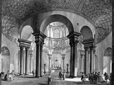 The Interior of Santa Costanza, from the 'Views of Rome' Series, 1758-Giovanni Battista Piranesi-Giclee Print