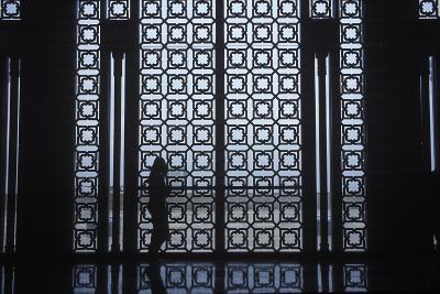 The Interior of the Hassan Ii Mosque in Casablanca, Morocco-Rebecca Hale-Photographic Print