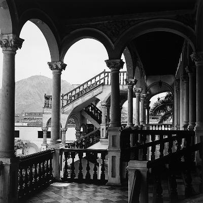 The Interior Portico of a House in Lima, Peru-Pietro Ronchetti-Photographic Print