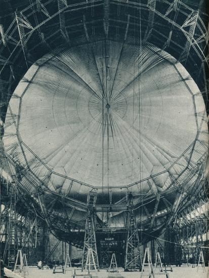 The internal structure of the airship R101, c1929 (c1937)-Unknown-Photographic Print