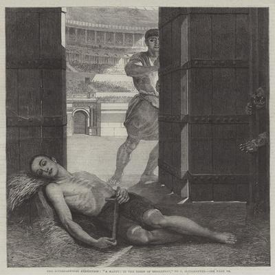 The International Exhibition, A Martyr in the Reign of Diocletian-Ernest Slingeneyer-Giclee Print