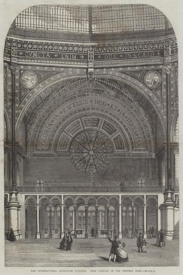 The International Exhibition Building, West Portion of the Western Dome--Giclee Print