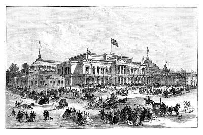 The International Exhibition, Dublin, Ireland, 1865--Giclee Print